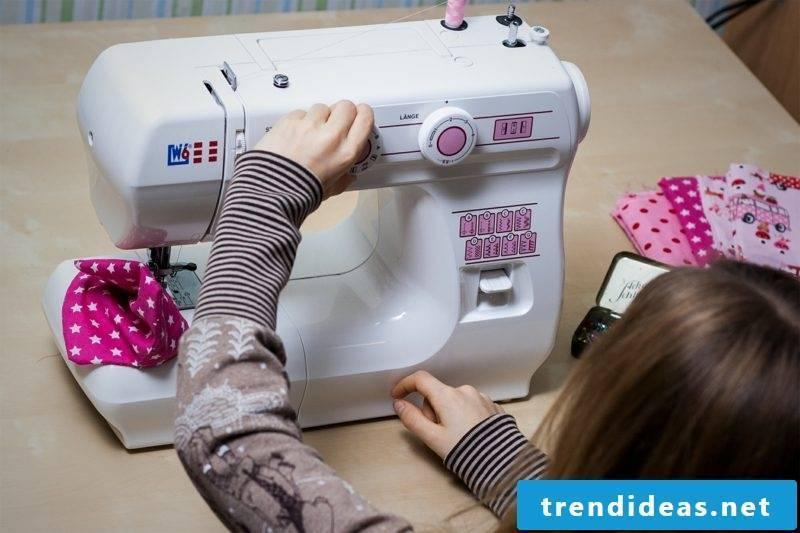 Cushion cover sew sewing machine