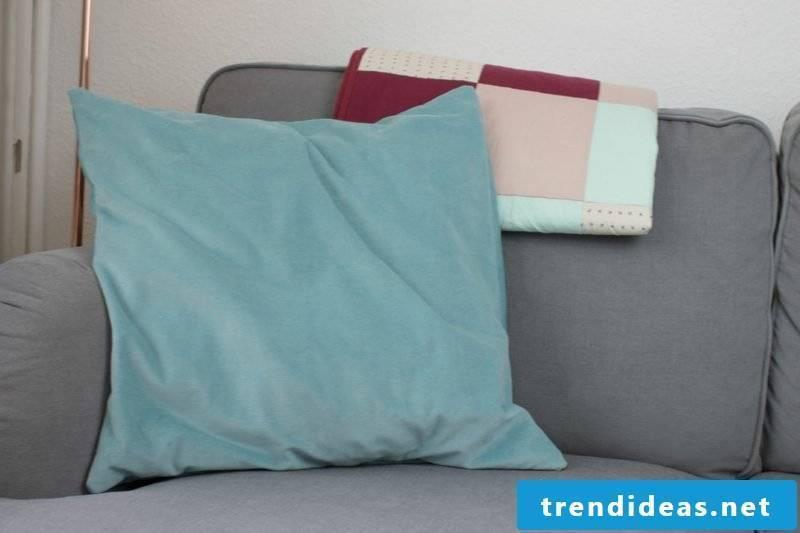 Cushion sew hotel closure
