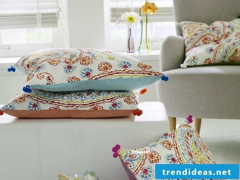 Sew pillow case 50x50