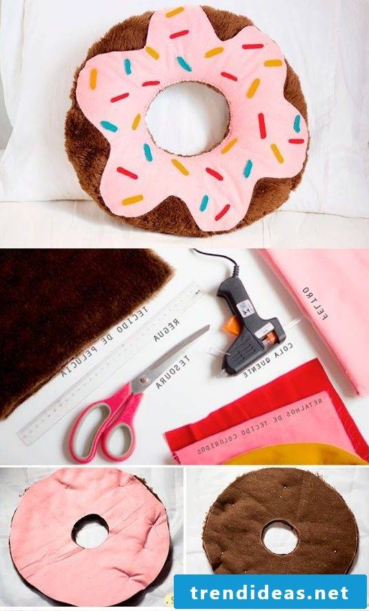 Cushion sewing - DIY instructions