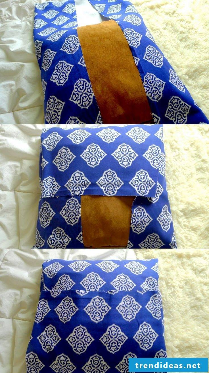 Sew the pillow