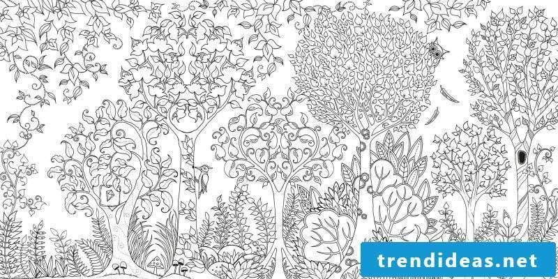 Free coloring pictures for a nice home decoration
