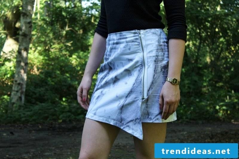 Wrap skirt sew original asymmetric wrap skirt