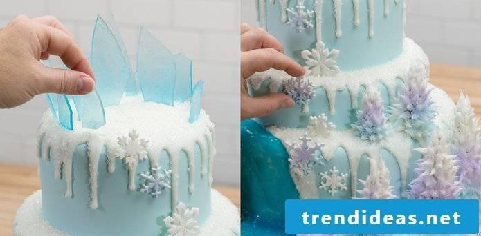 Making Creative Tarts Yourself Frozen Tutorial Step 7