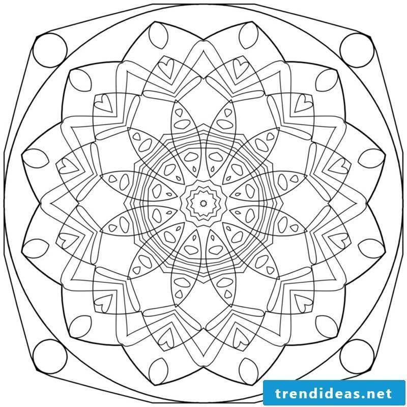 mandala templates health