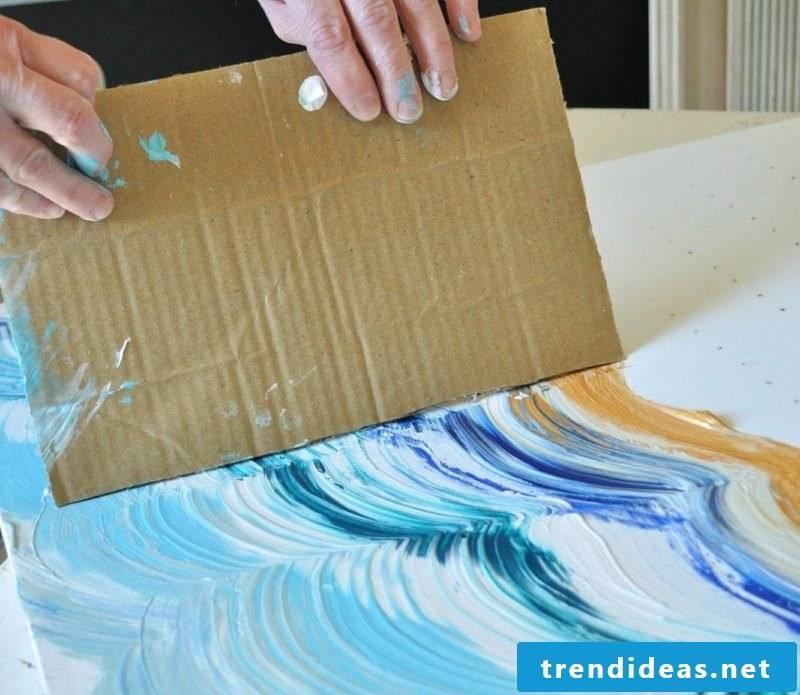 Paint DIY canvas