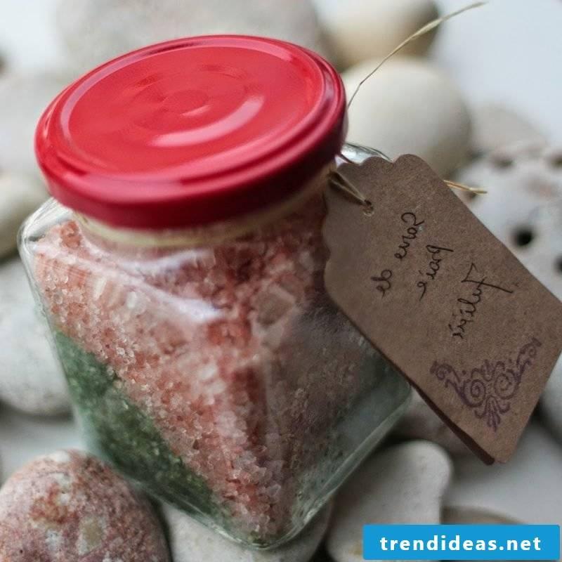 Bath salt itself make mix
