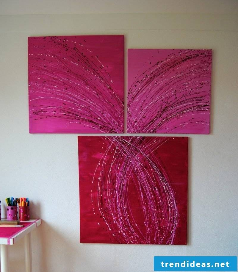 Paint your own pictures Pink