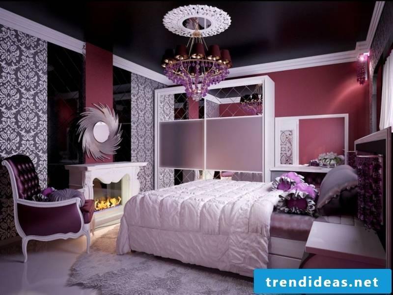 modern black blanket in the room