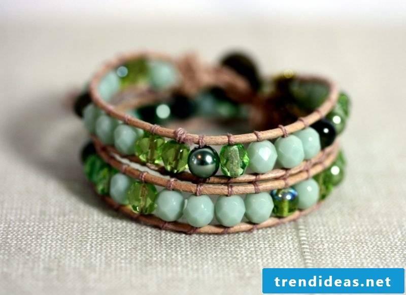 DIY bracelet homemade