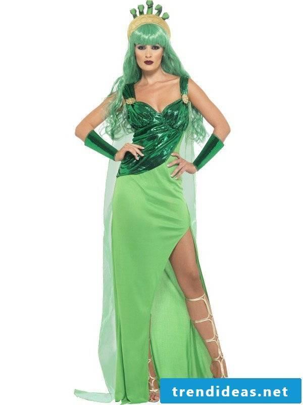 medusa costume single-acting