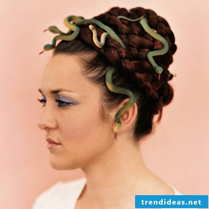 medusa costume snakes