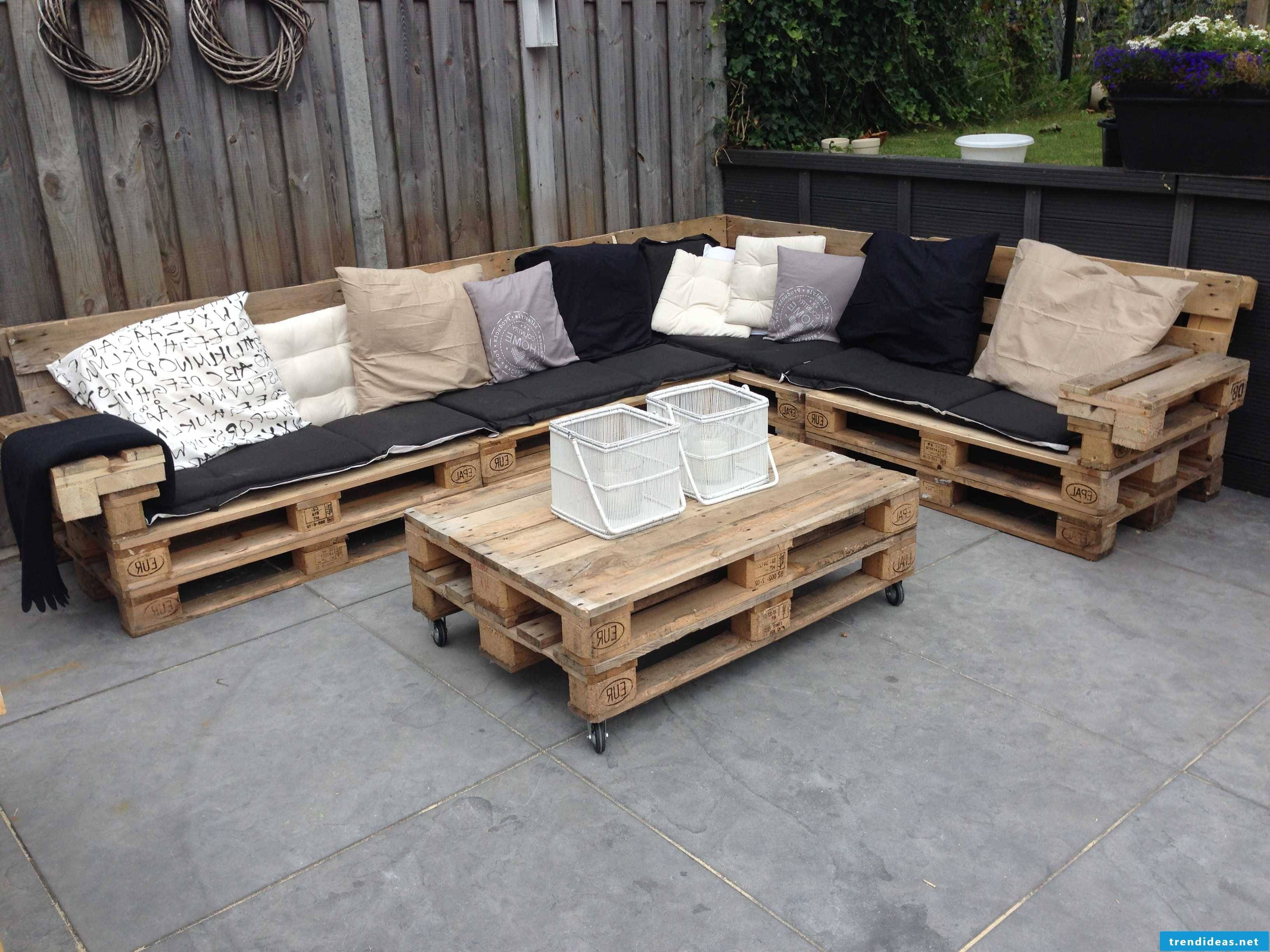 Pallettenschick to build yourself