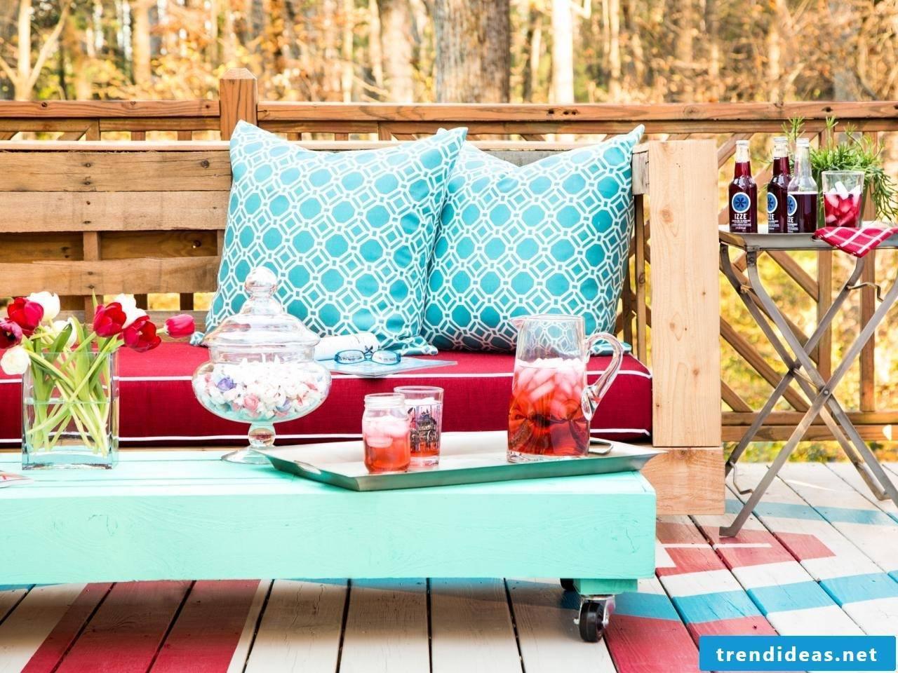 Chill corner for the simmer days