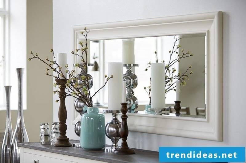 designer mirror modern