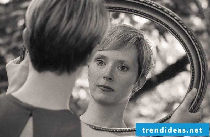 designer mirror old