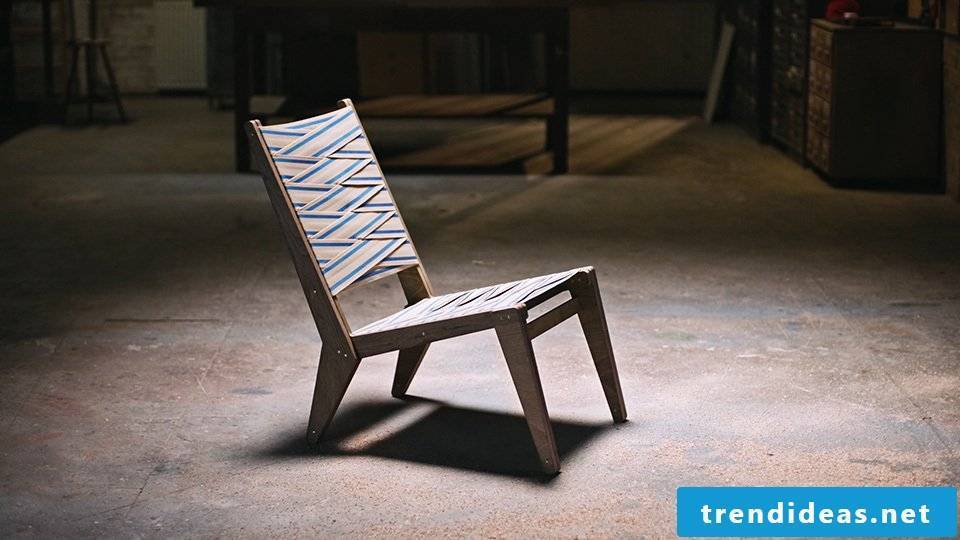 Lounge Chair - seating comfort for DIY