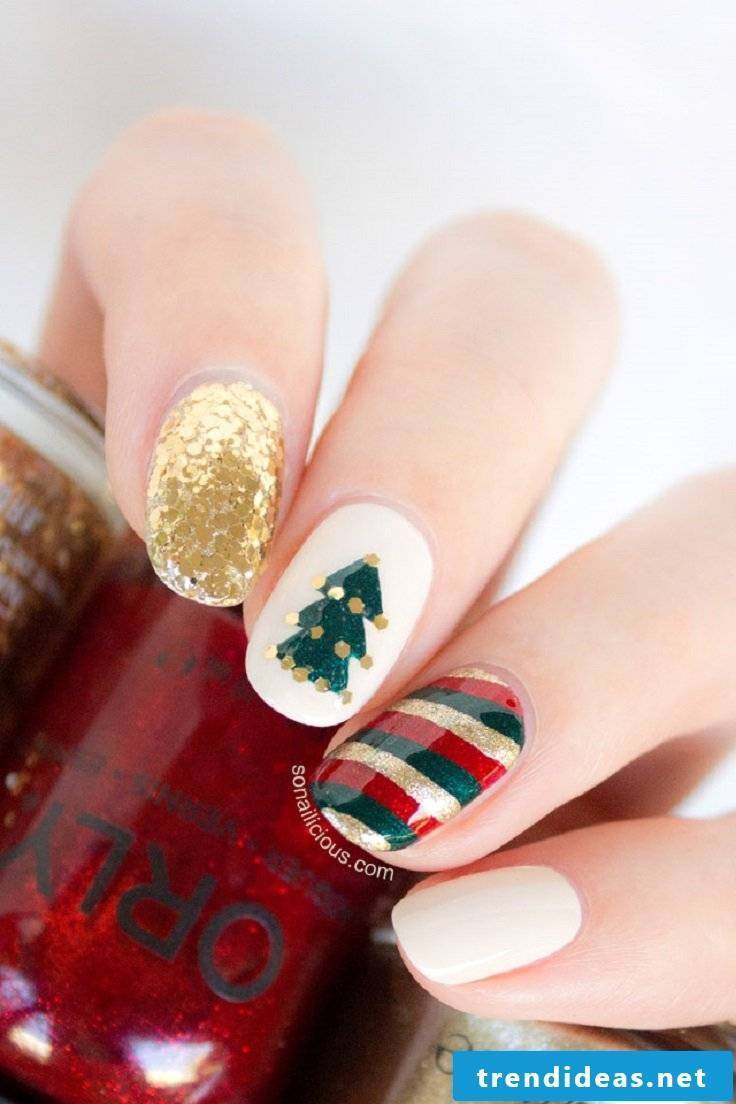 Christmas nails ideas