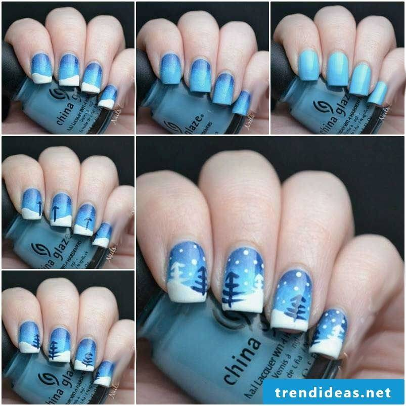 Nail art pictures instructions for beginners
