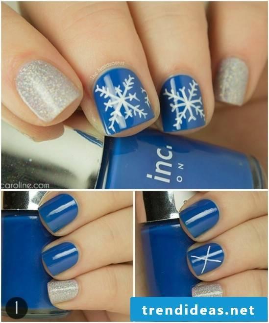 Gel nails motifs in 2017