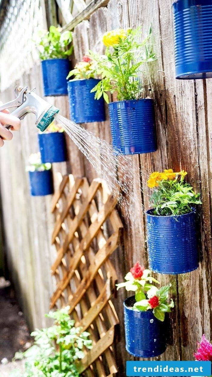 DIY decoration for the garden - make rust decoration yourself
