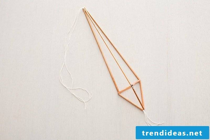 Beautiful home decorating yourself making copper hemp flower instruction materials