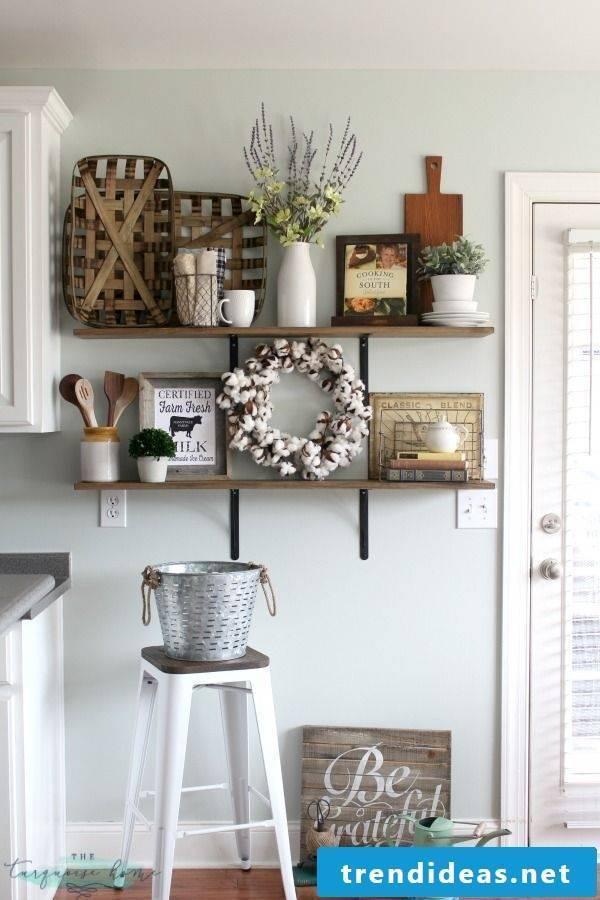 Kitchen decor ideas for the autumn
