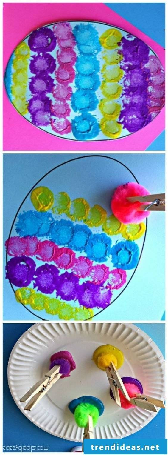 Ideas for painting with children