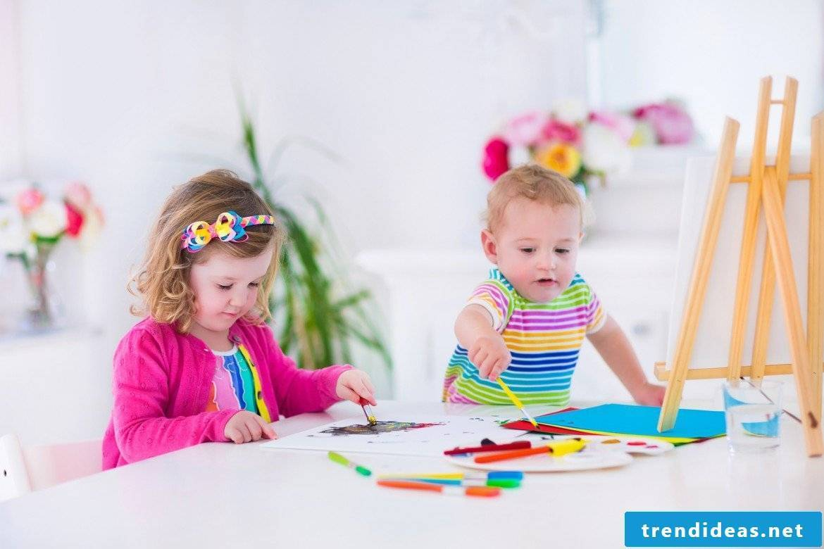 Painting coloring pages is like a game for a child.