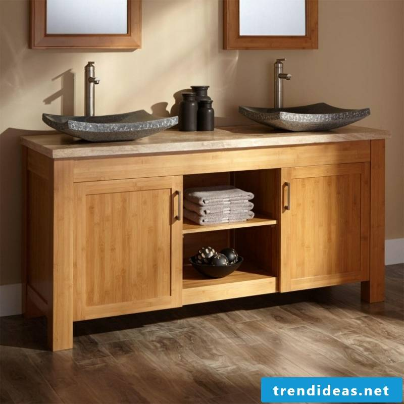 Dream Bathrooms Bathroom Design Bamboo furniture