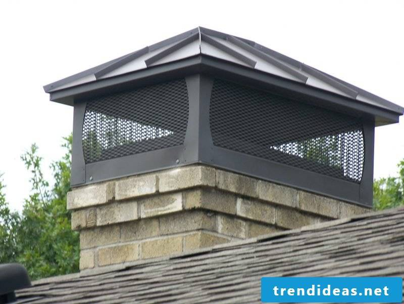 Chimney dress: different variants to create a new paneling