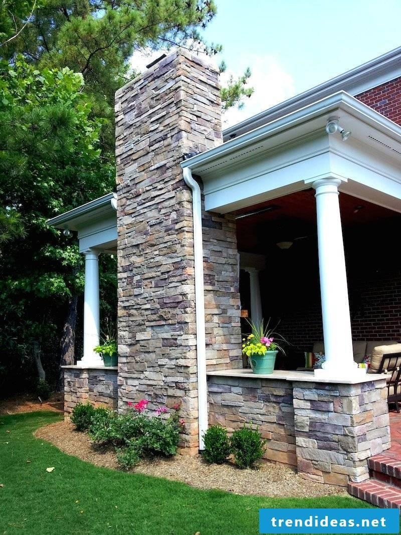 Dress the chimney: modern chimney lining