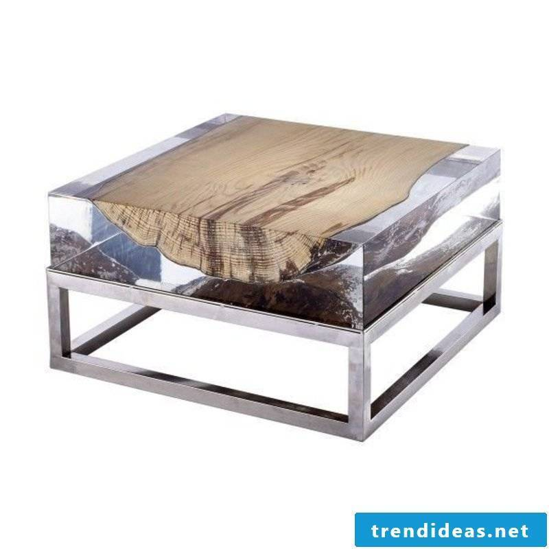 Driftwood furniture unique coffee table