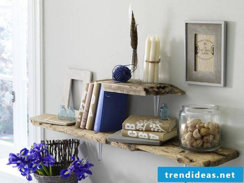 Shelf driftwood furniture