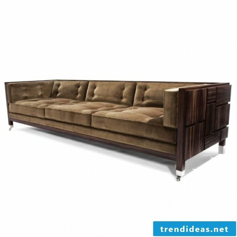 massive driftwood sofa