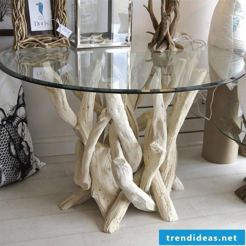 Driftwood furniture original coffee table