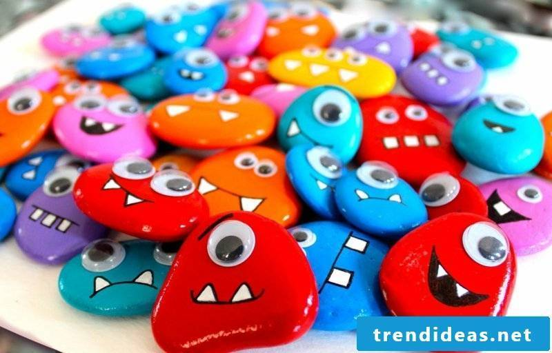 painted stones for children