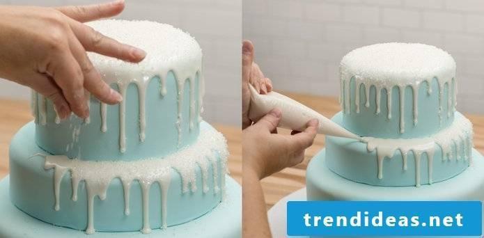 Making Creative Tarts Yourself Frozen Tutorial Step 1