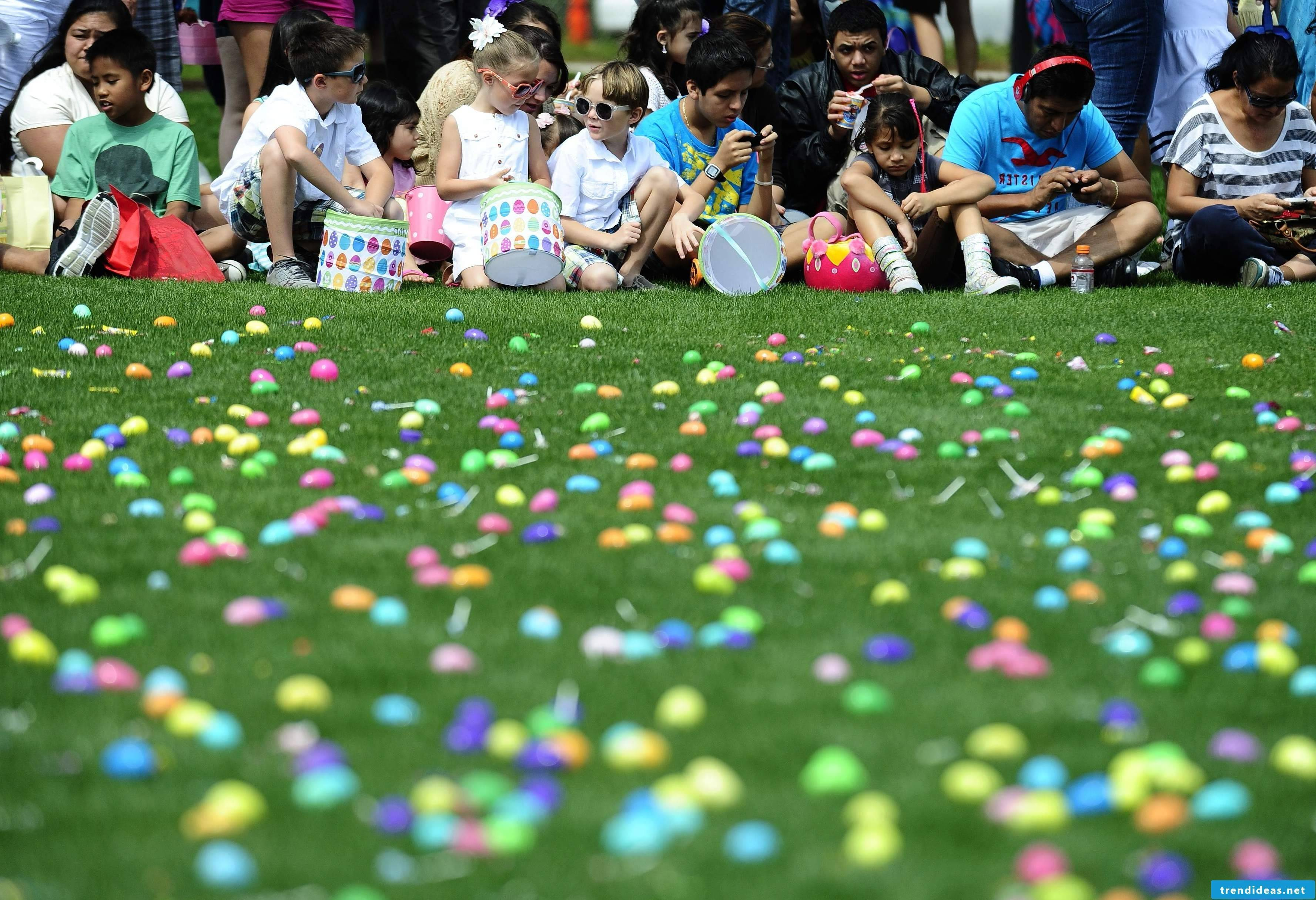 How do you organize the best easter egg hunt?