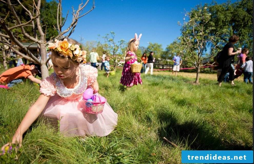 Tips and tricks for the easter egg hunt on Easter Monday