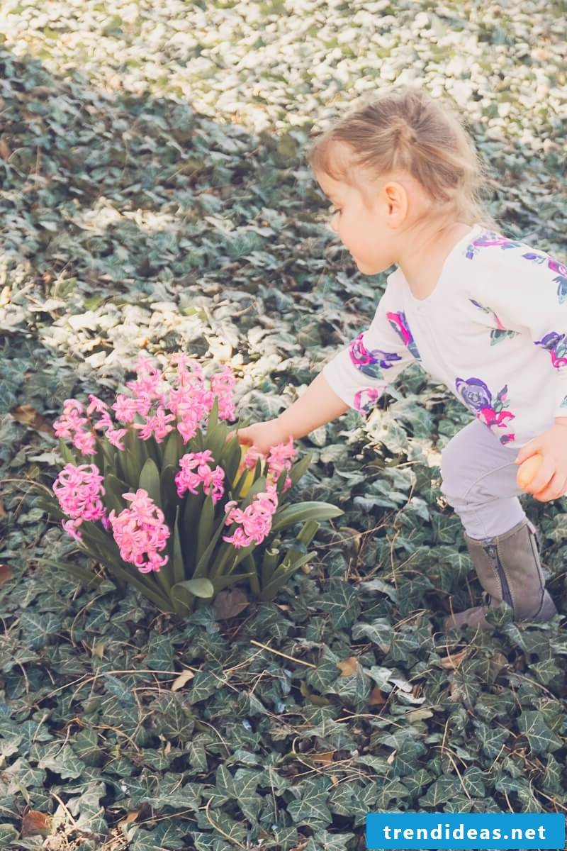 Many great ideas for children's games on Easter Monday