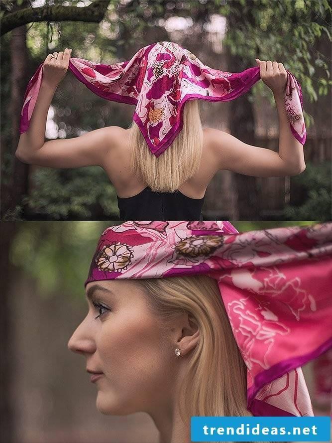 Tie headscarf Tie pirate cloth