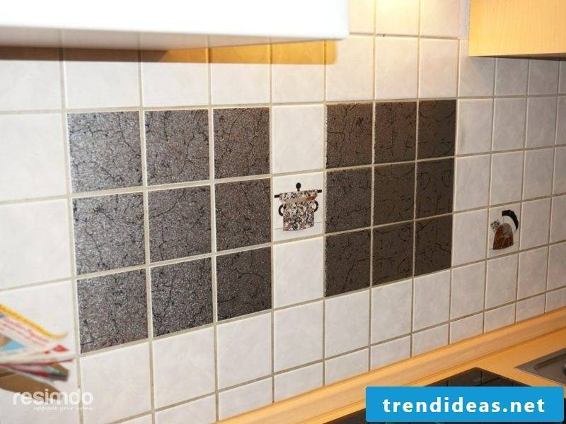 Overlay wall tiles kitchen over design great patterns yourself