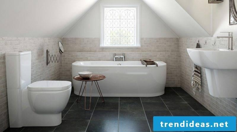 Tile bathroom floor tiles paint vs cover over