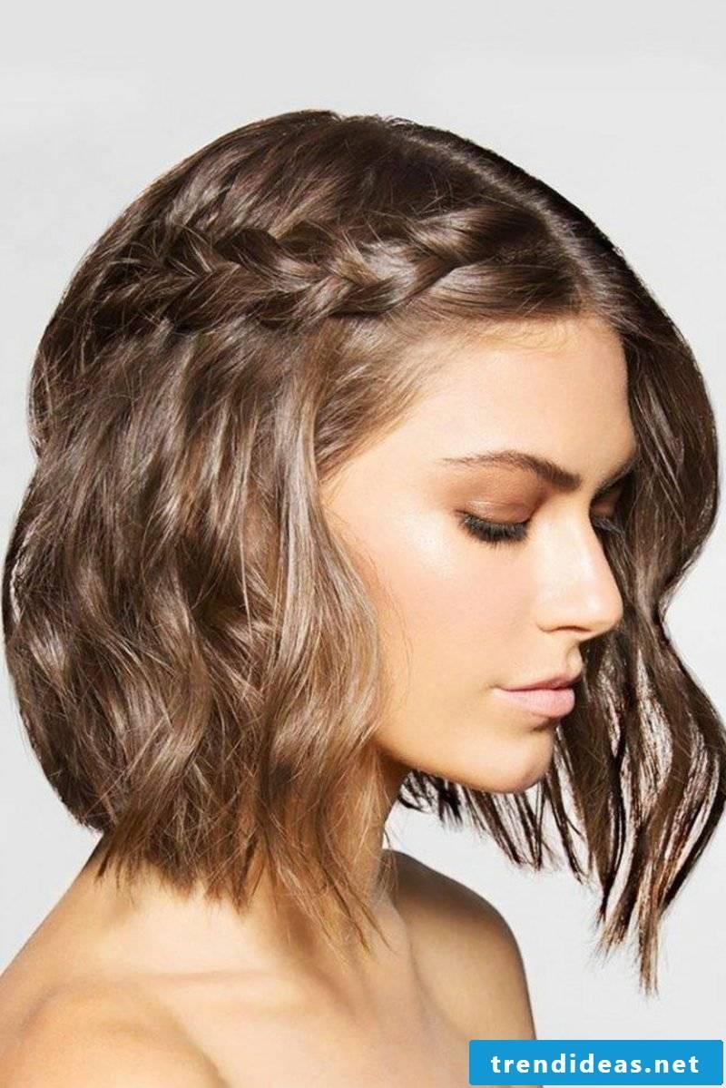 braided hair side braid