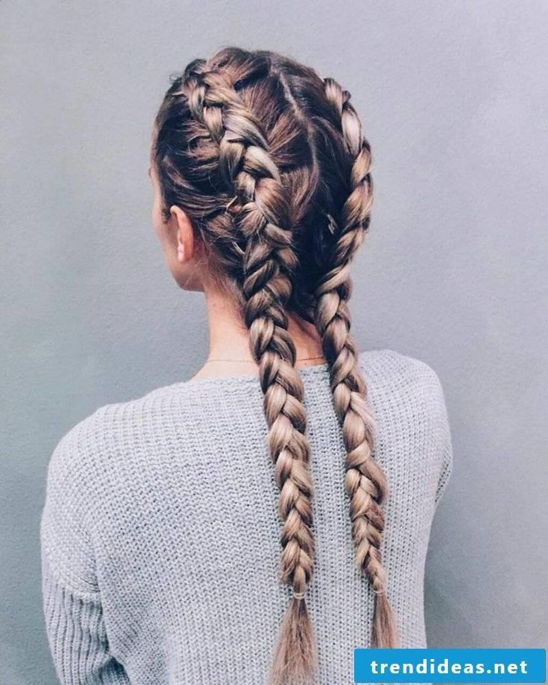braided braids french