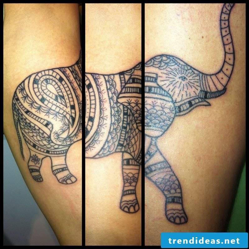 Elephant Tattoo Three