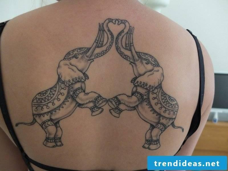 Elephant tattoo favorite couple