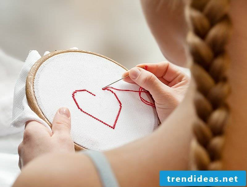 Learn to embroider DIY ideas