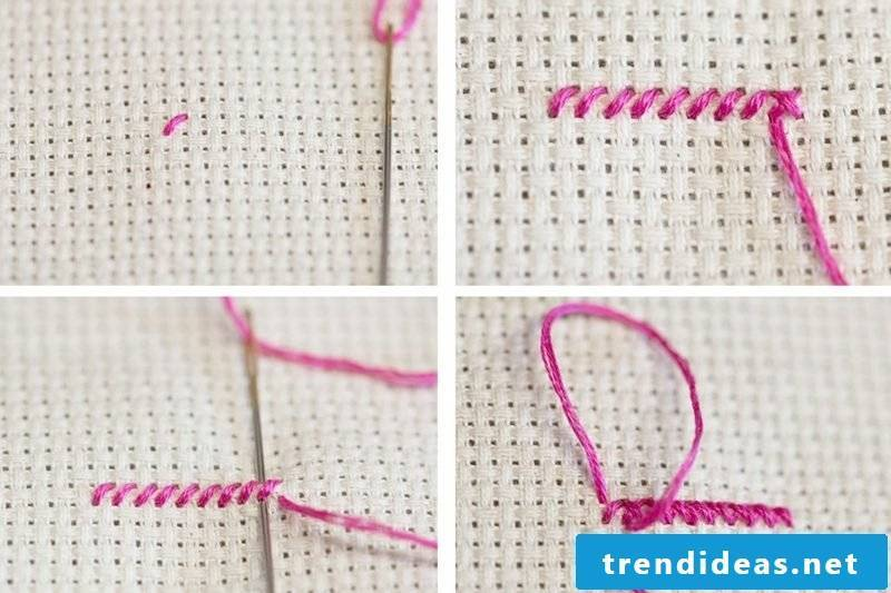 Embroidery learn to make Cross Stitch yourself
